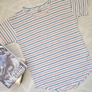 NWT MADEWELL Whisper Cotton Crewneck Tee Shirt